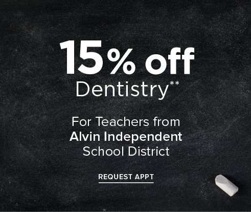 Teacher Offer - Dentist in Pearland, TX - Pearland Modern Dentistry and Orthodontics